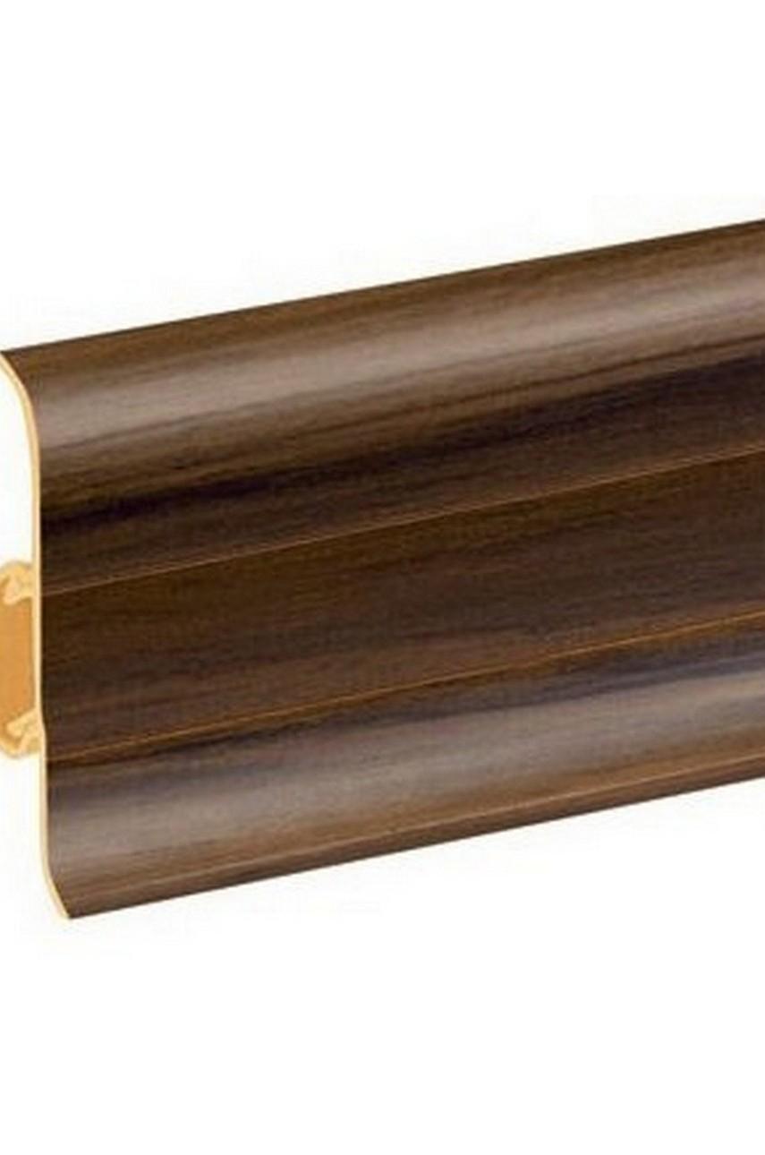 Плинтус напольный 59мм 2,5м CEZAR Premium ПВХ 150