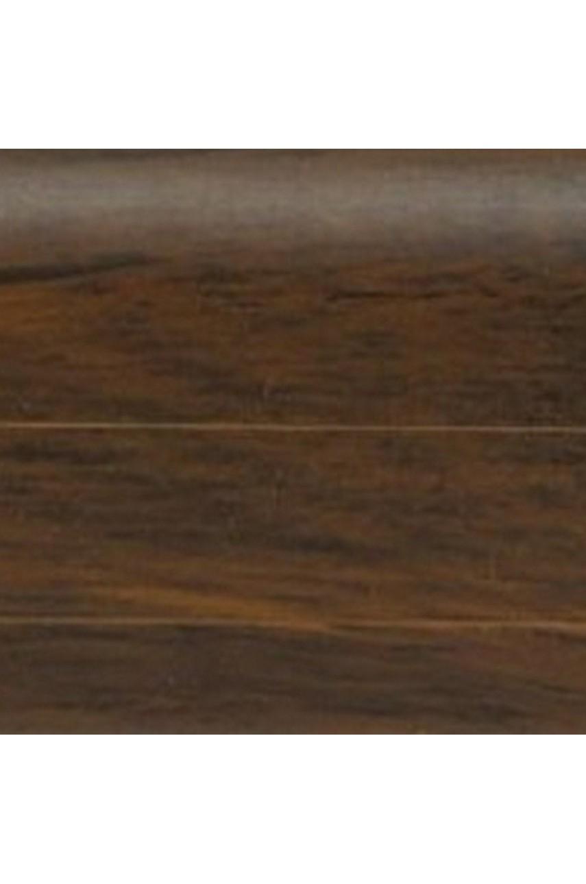 Плинтус напольный 59мм 2,5м CEZAR Premium ПВХ 185 Пекан невада