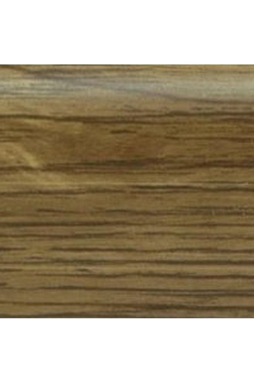 Плинтус напольный 59мм 2,5м CEZAR Premium ПВХ 186 Дуб монастырский