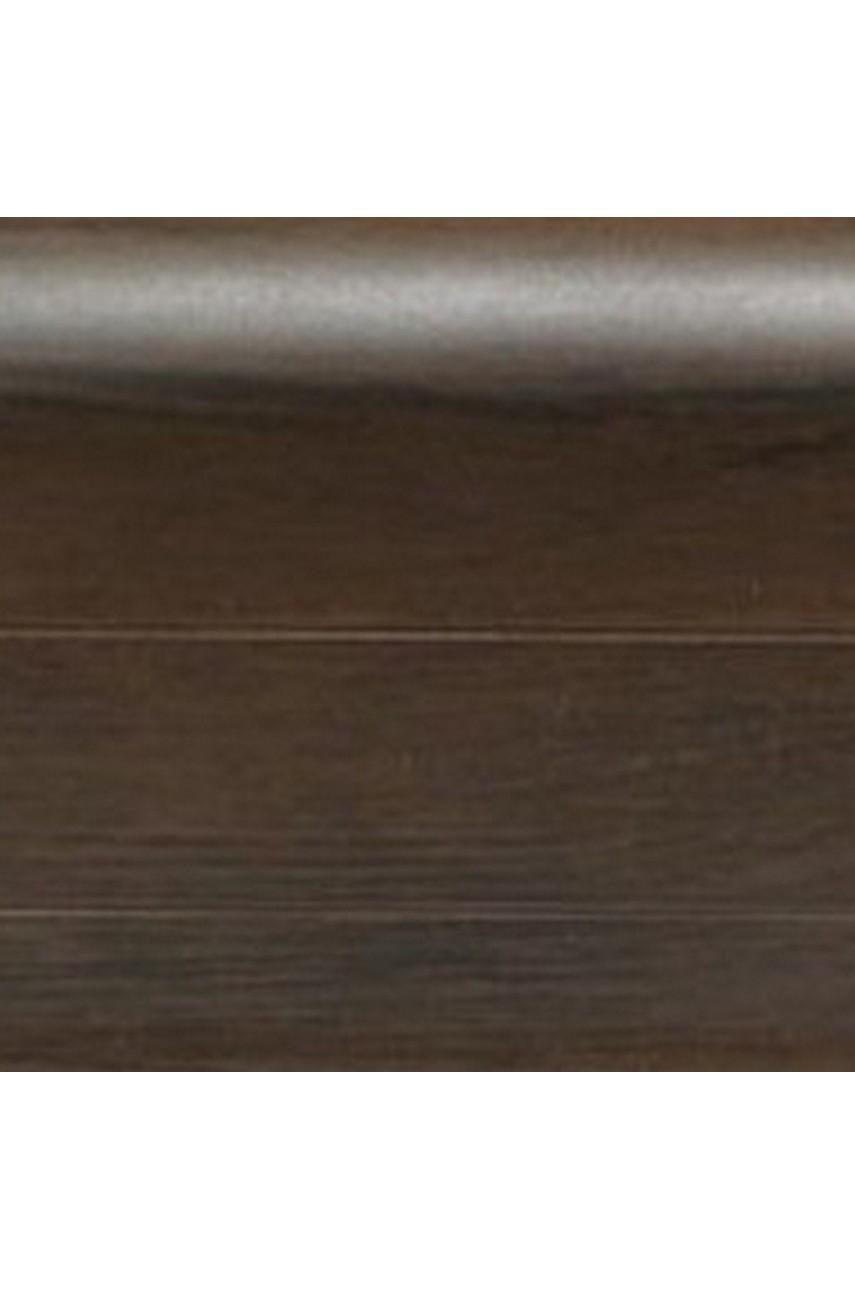 Плинтус напольный 59мм 2,5м CEZAR Premium ПВХ 191 Гикори дымчатый