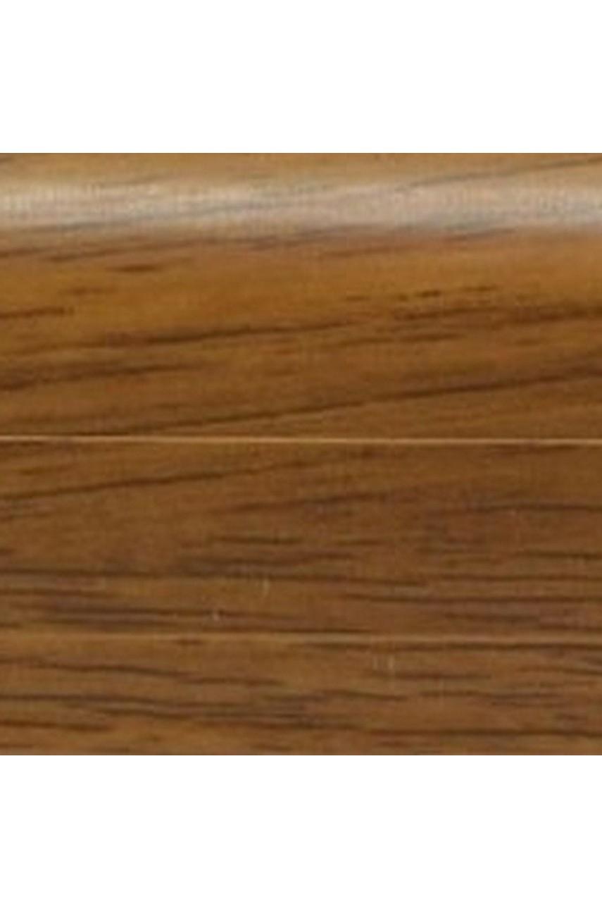 Плинтус напольный 59мм 2,5м CEZAR Premium ПВХ 194 Орех старый