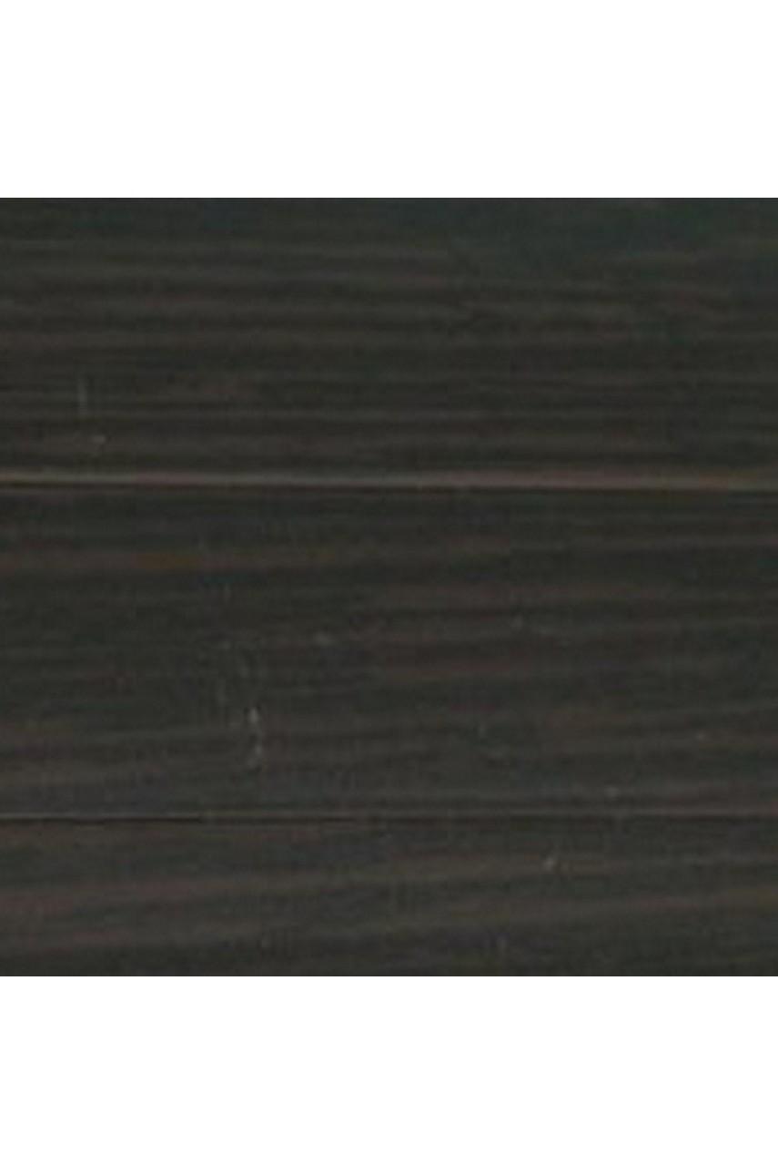 Плинтус напольный 59мм 2,5м CEZAR Premium ПВХ 200 Венге темный
