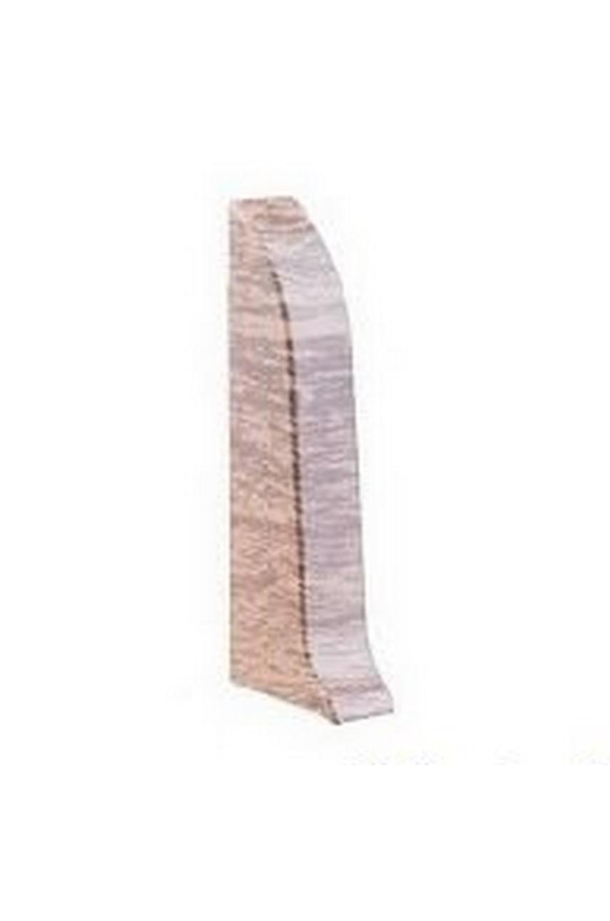 Заглушка для плинтуса CEZAR Premium 59мм левая в цвет плинтуса
