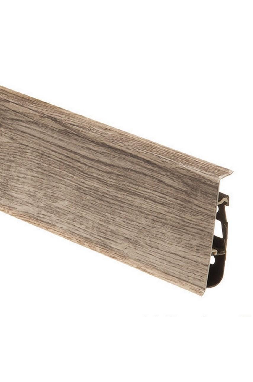Плинтус напольный 75мм CEZAR HI-LINE PRESTIGE 2,5м. ПВХ цвет 145