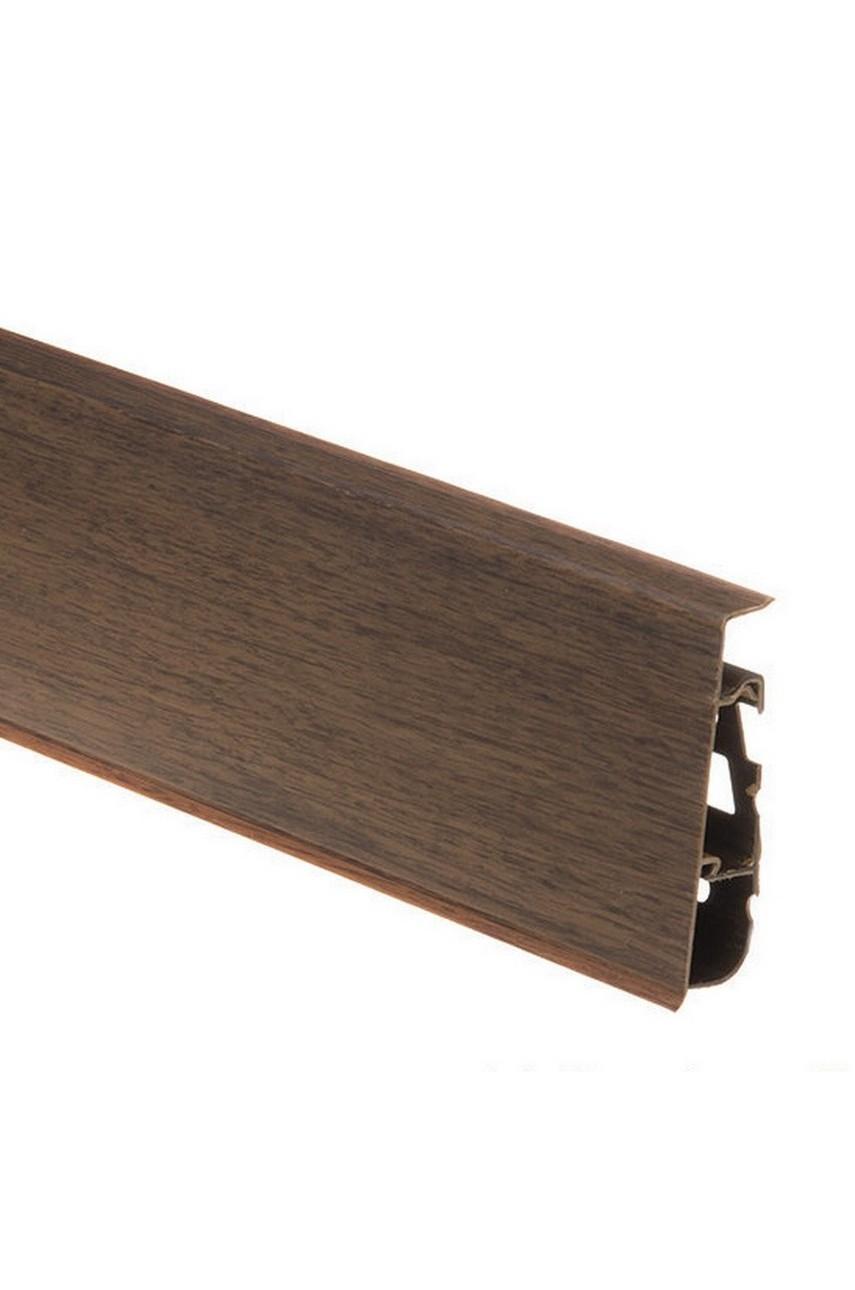 Плинтус напольный 75мм CEZAR HI-LINE PRESTIGE 2,5м. ПВХ цвет 106