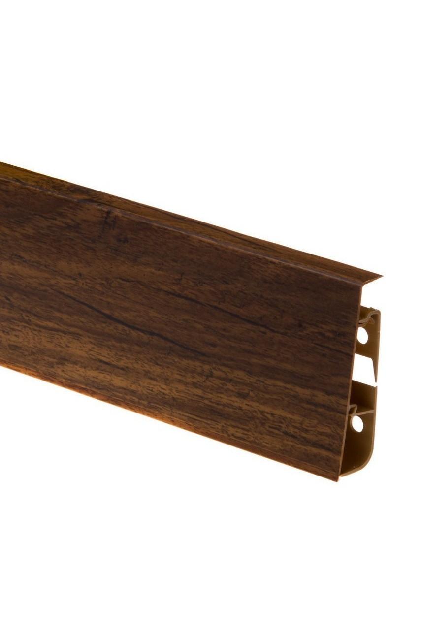 Плинтус напольный 75мм CEZAR HI-LINE PRESTIGE 2,5м. ПВХ цвет 284
