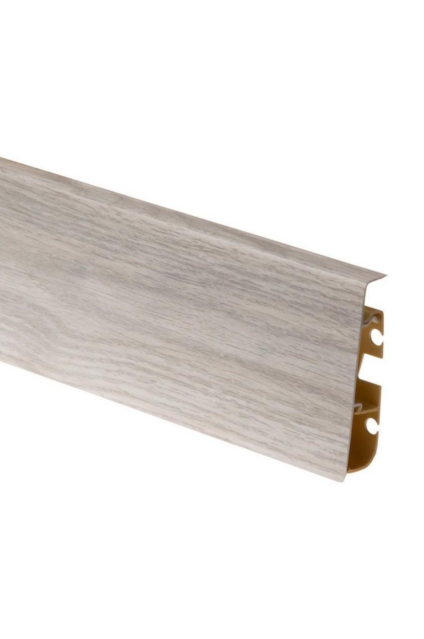 Плинтус напольный 75мм CEZAR HI-LINE PRESTIGE 2,5м. ПВХ цвет 285