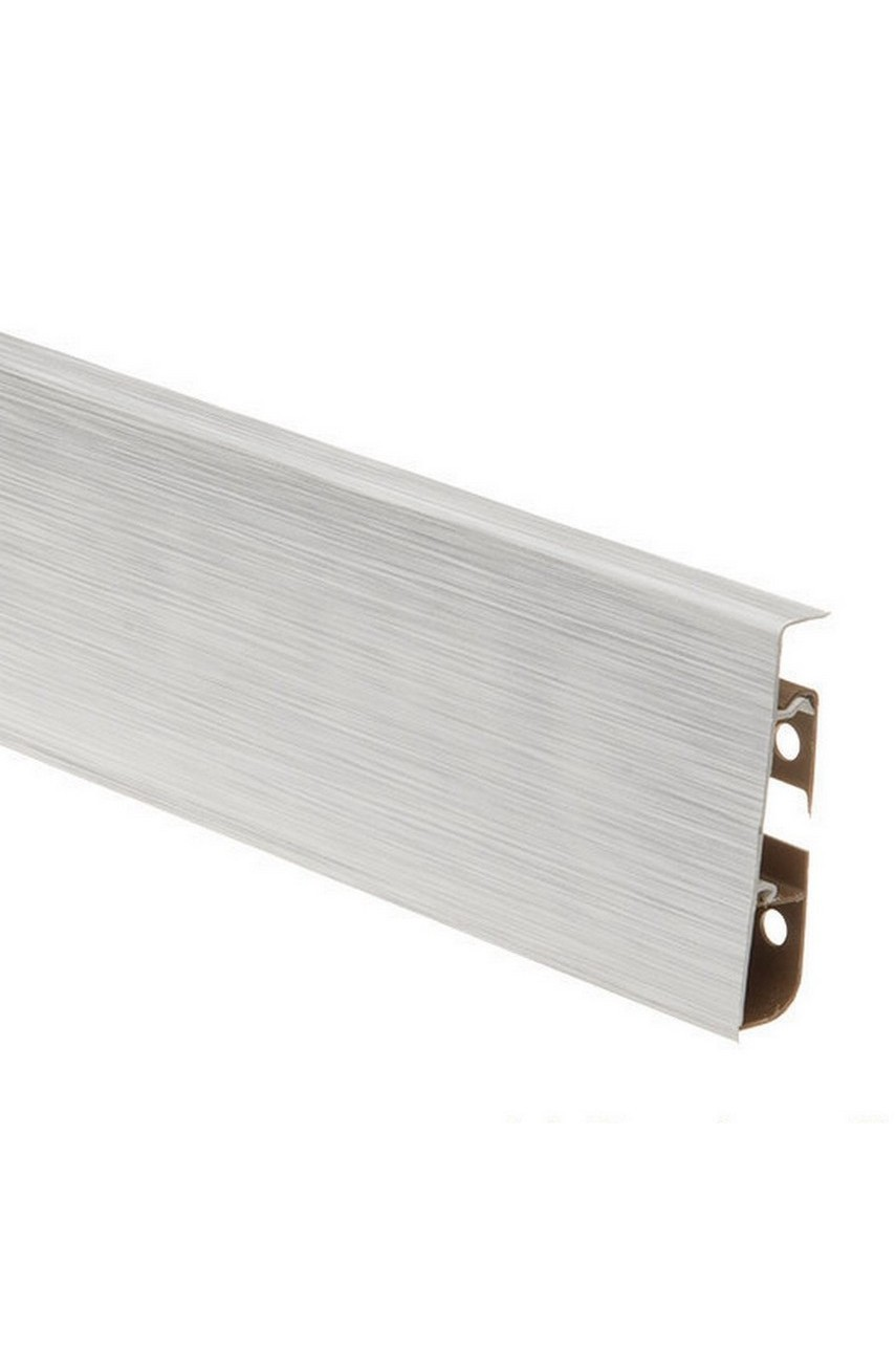 Плинтус напольный 75мм CEZAR HI-LINE PRESTIGE 2,5м. ПВХ цвет 266