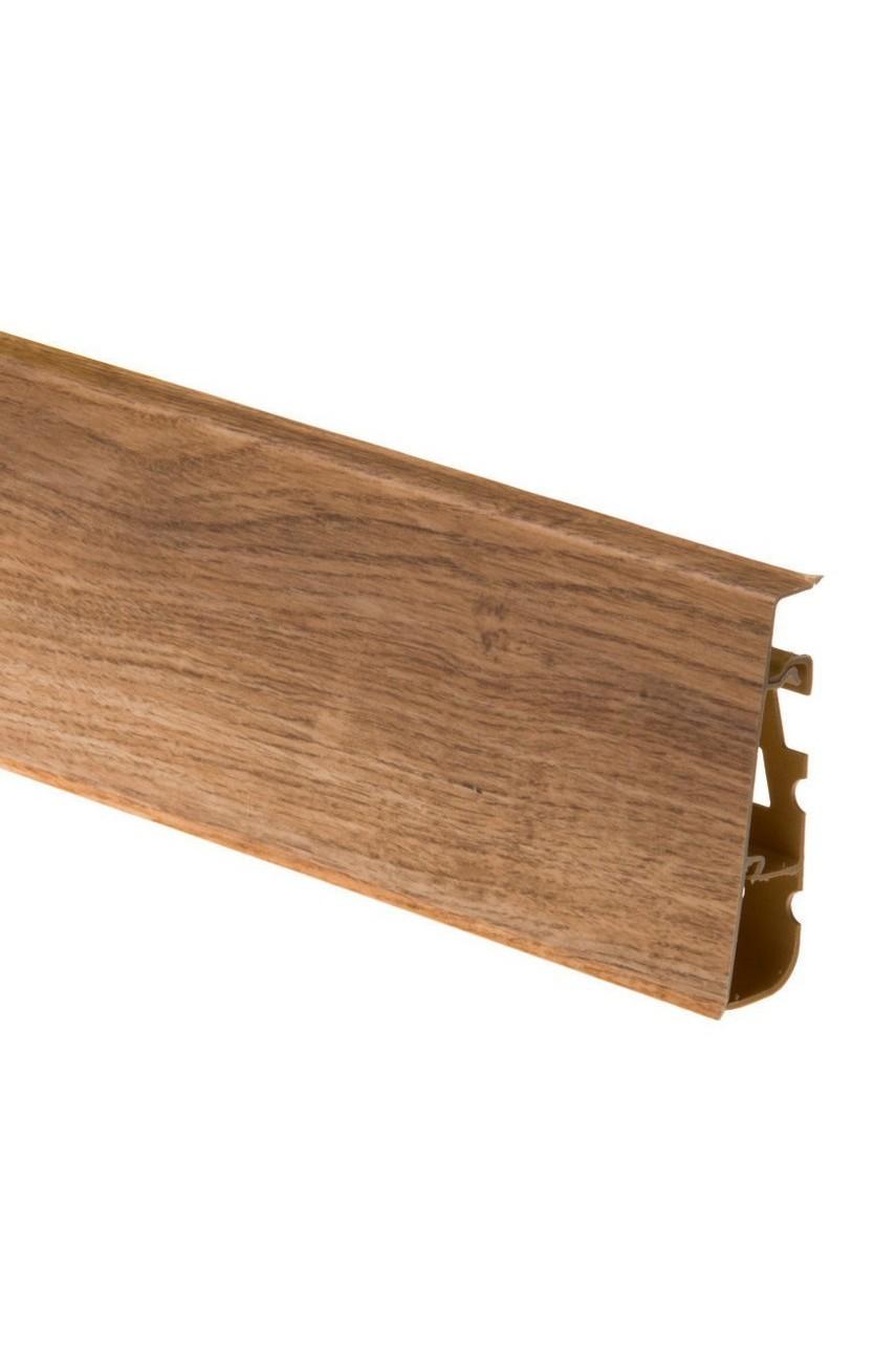 Плинтус напольный 75мм CEZAR HI-LINE PRESTIGE 2,5м. ПВХ цвет 286