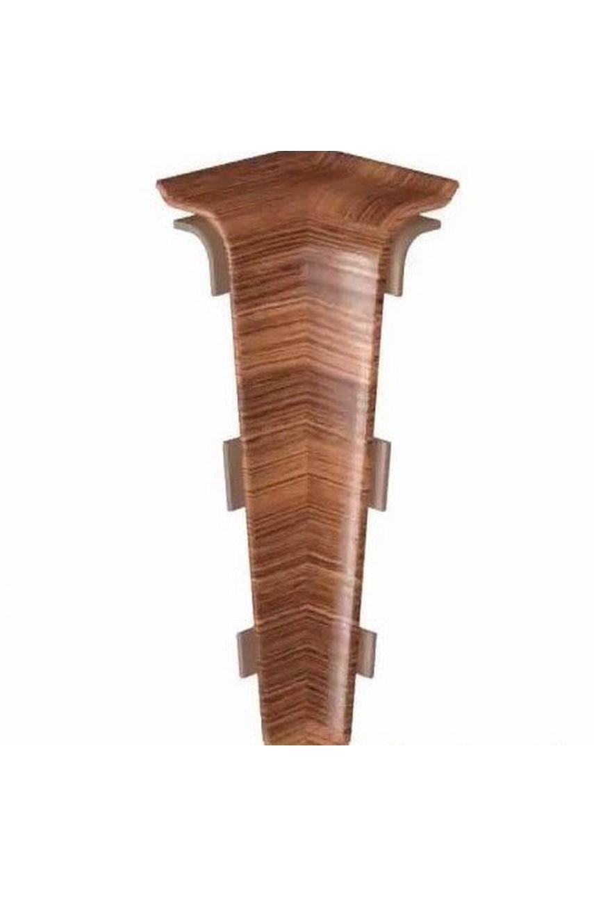 Угол внутренний текстурный HI-LINE PRESTIGE 75мм в цвет плинтуса 2шт.