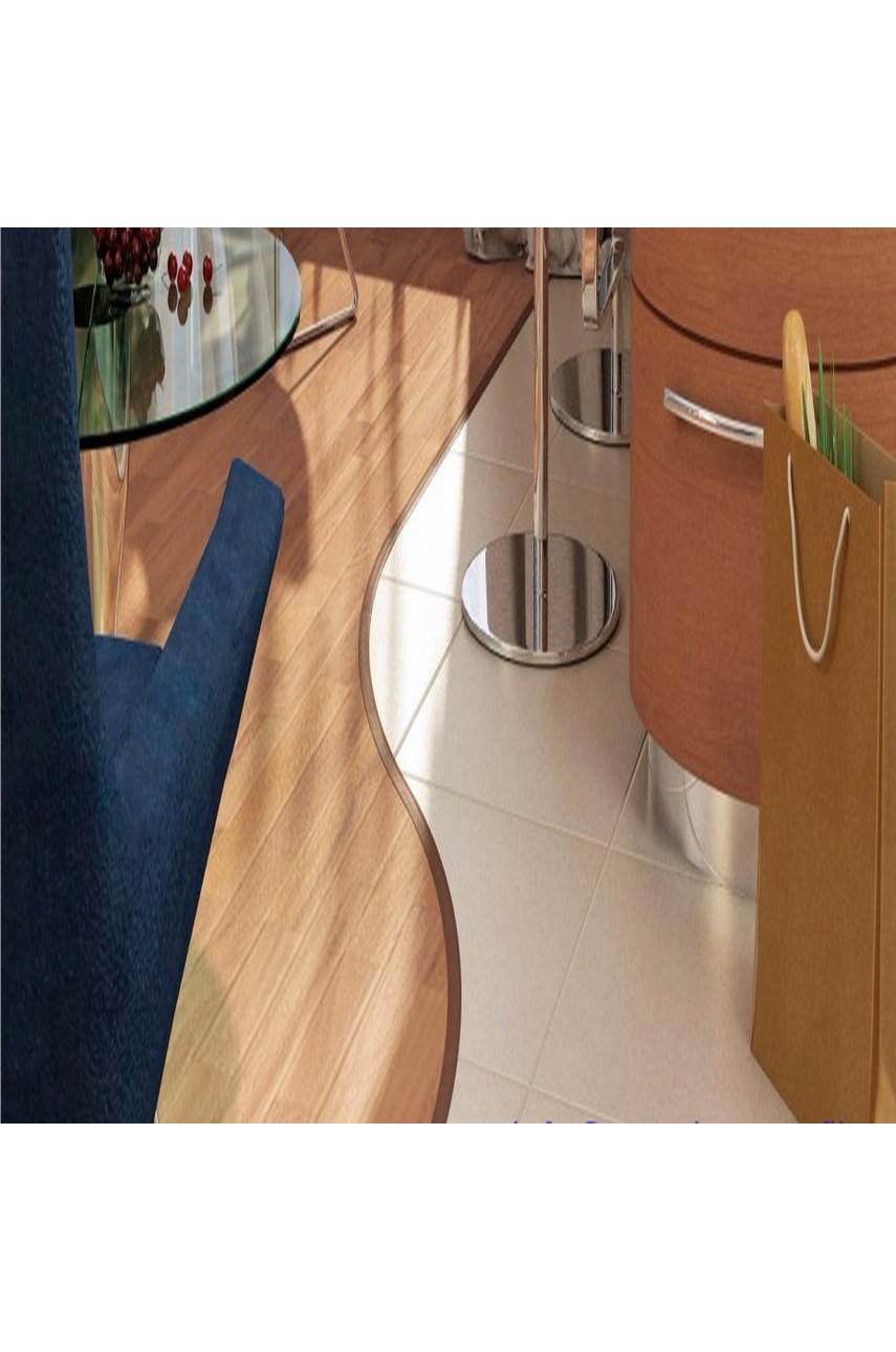 Профиль порог гибкий Step Flex 36мм 3|6 м. дуб коньяк 58