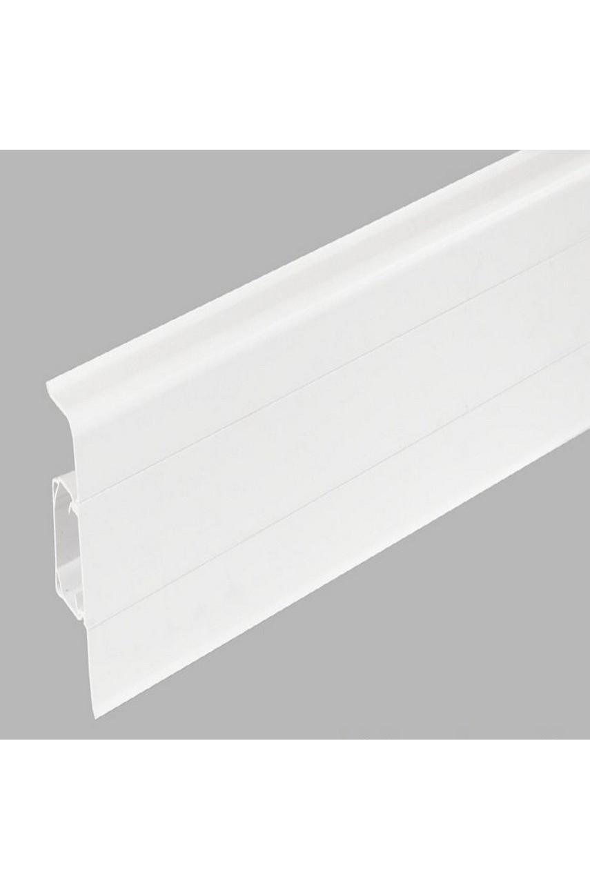 Плинтус Арбитон Ларс(Lars) 70мм White Mat 40