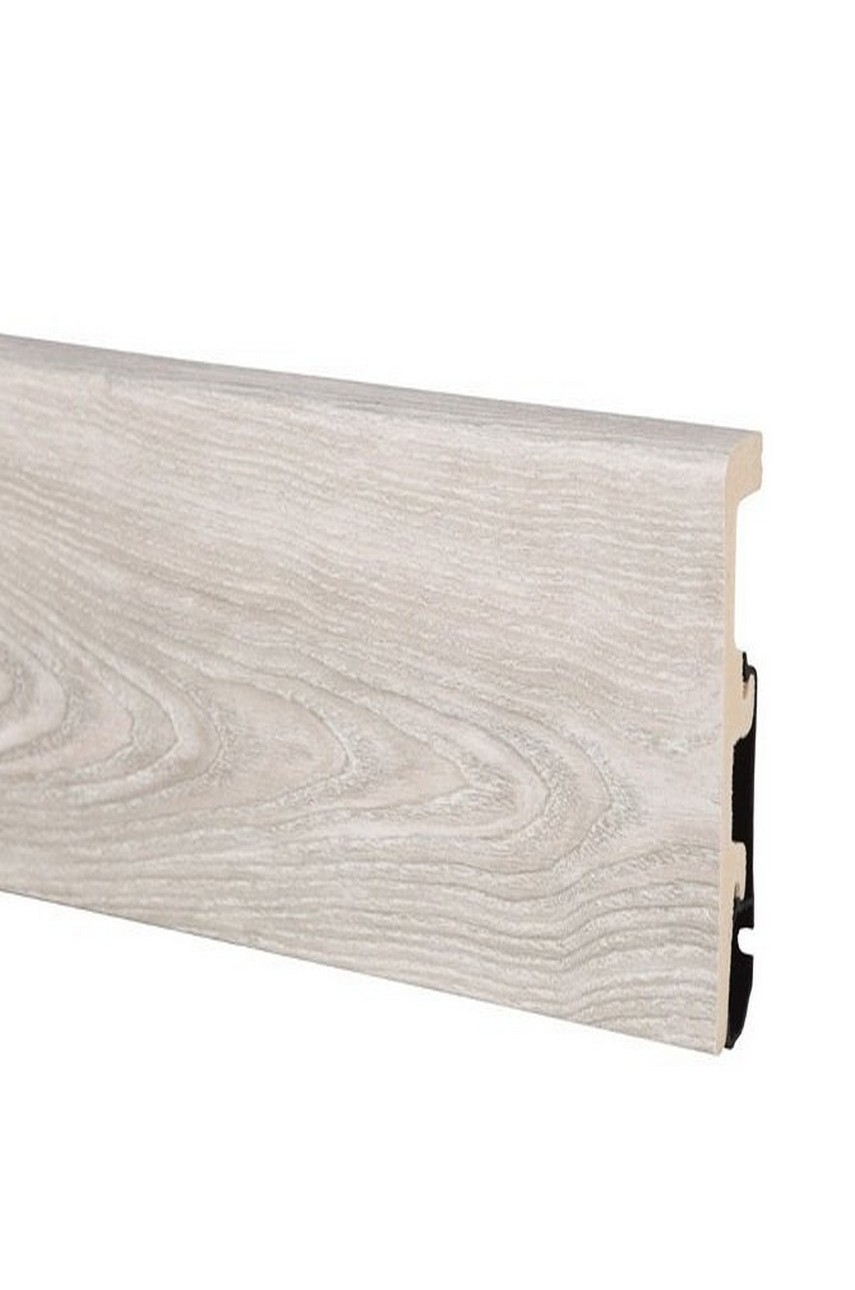 Плинтус Арбитон Интегра из дюрополимера 80мм 2.4м 07 Дуб Alabama