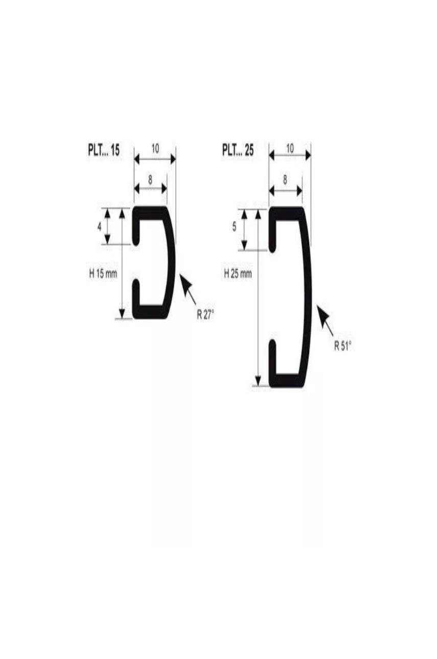Бордюр алюминиевый анодированный 25мм 2,7м PLTAA 25 серебро Progress profiles