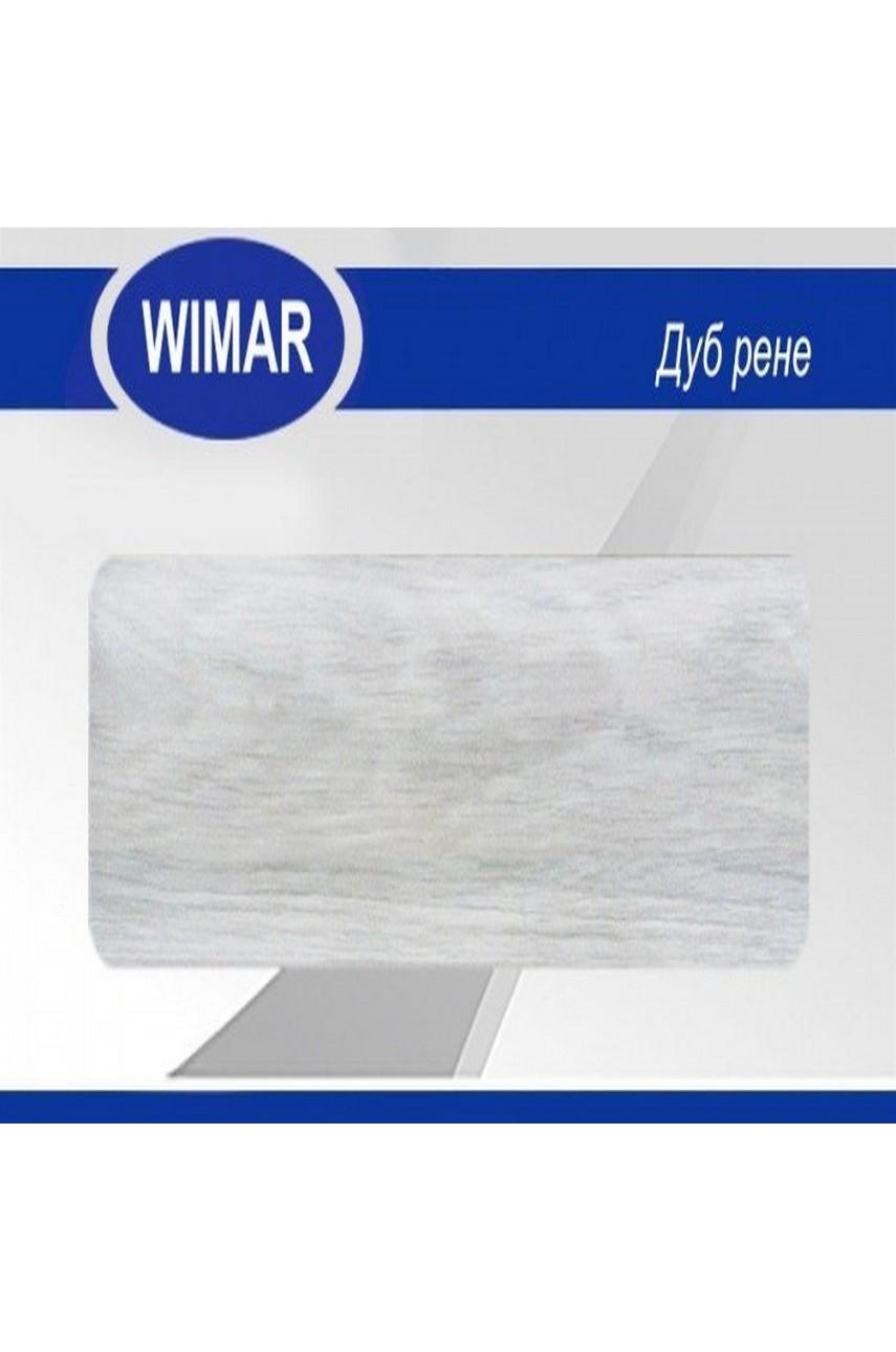 Плинтус пластиковый напольный WIMAR ПВХ 58мм Дуб рене