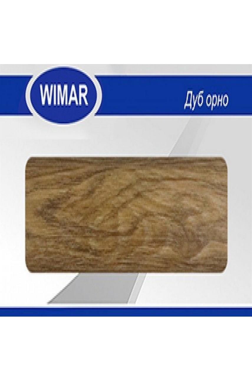 Плинтус пластиковый напольный WIMAR ПВХ 58мм Дуб орно