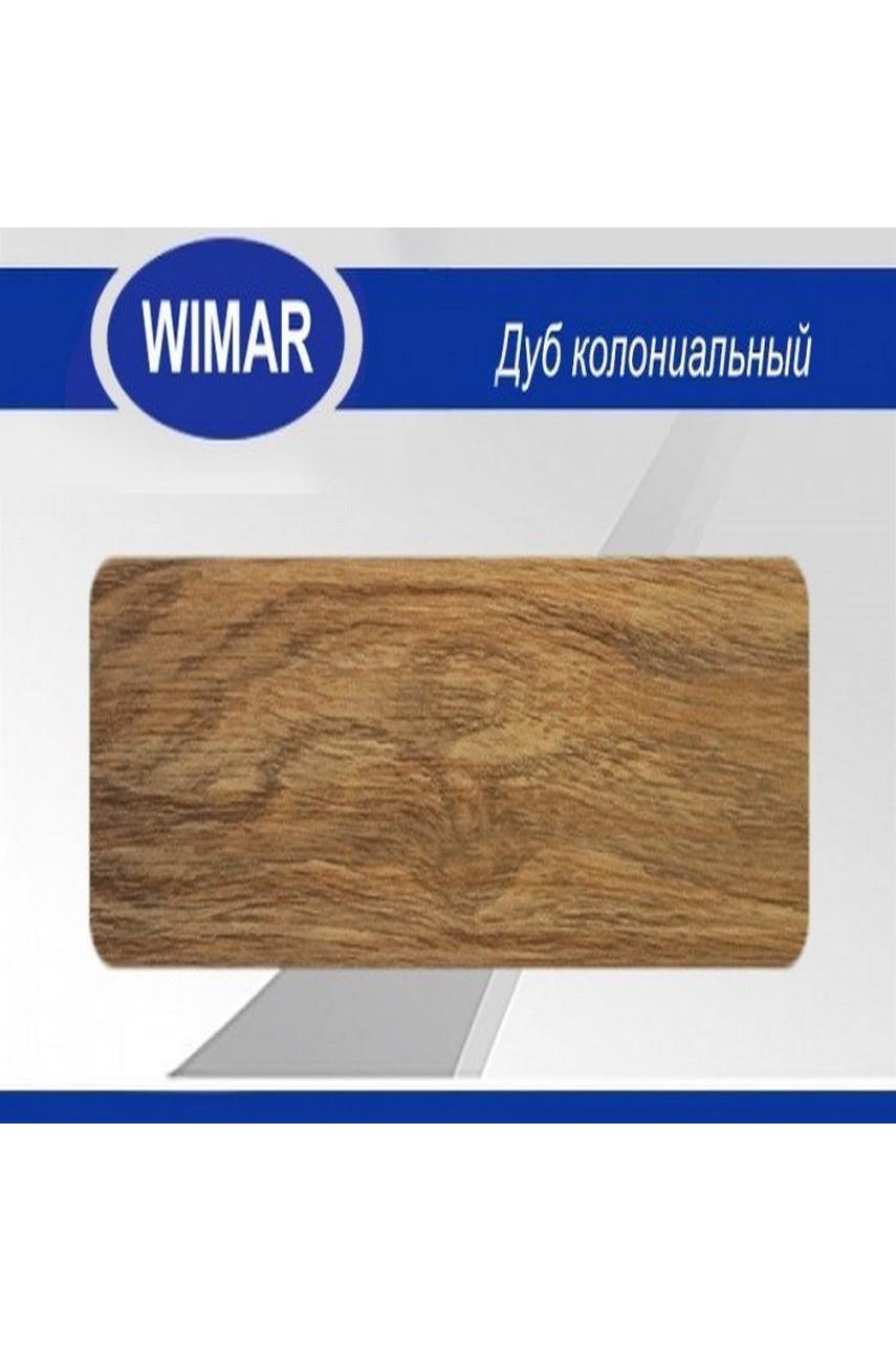 Плинтус пластиковый напольный WIMAR ПВХ 58мм Дуб колониальный