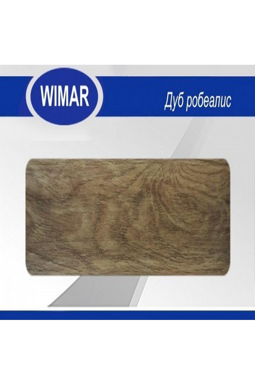 Плинтус пластиковый напольный WIMAR ПВХ 58мм Дуб робеалис
