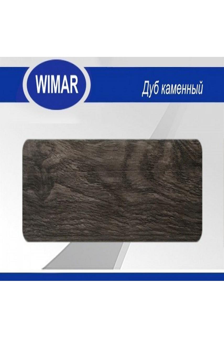 Плинтус пластиковый напольный WIMAR ПВХ 58мм Дуб каменный