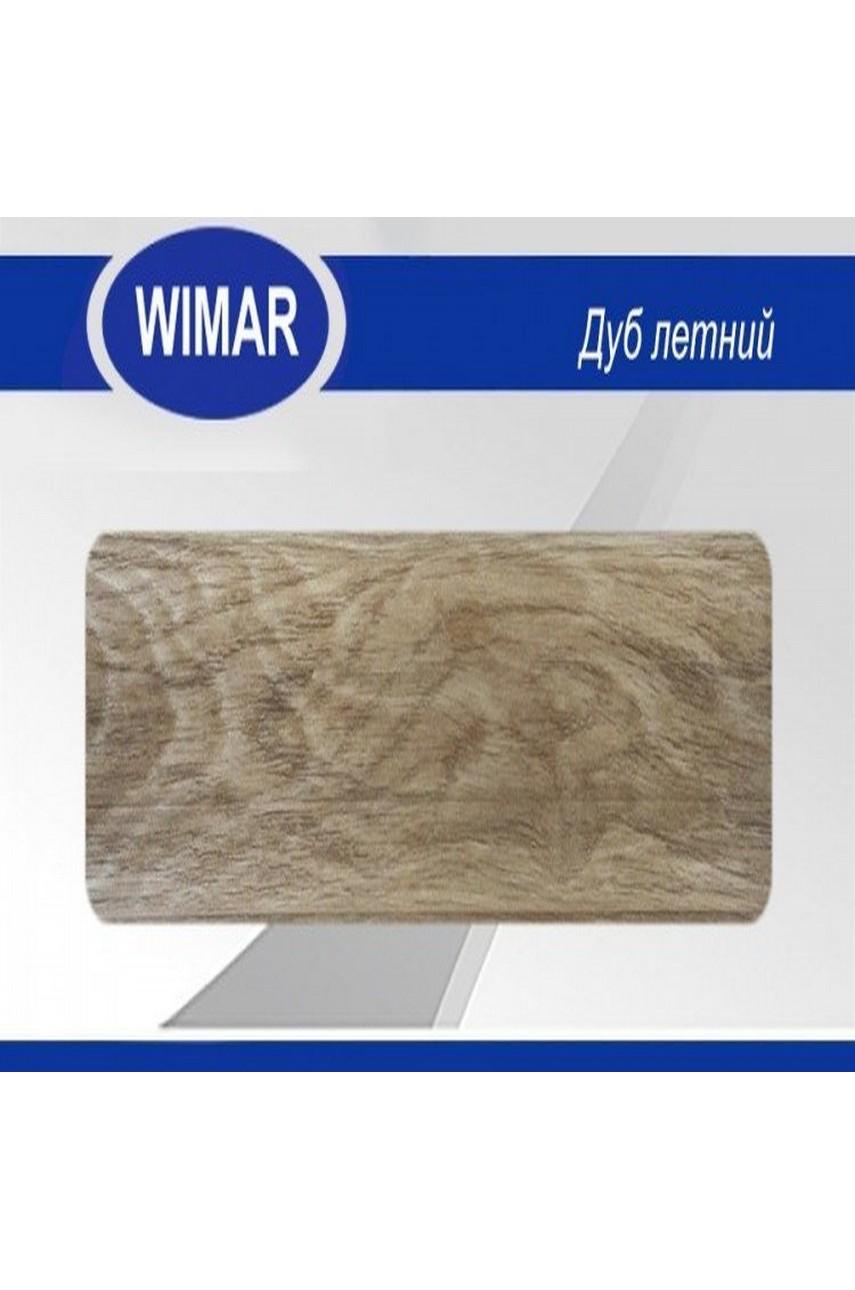 Плинтус пластиковый напольный WIMAR ПВХ 68мм Дуб летний