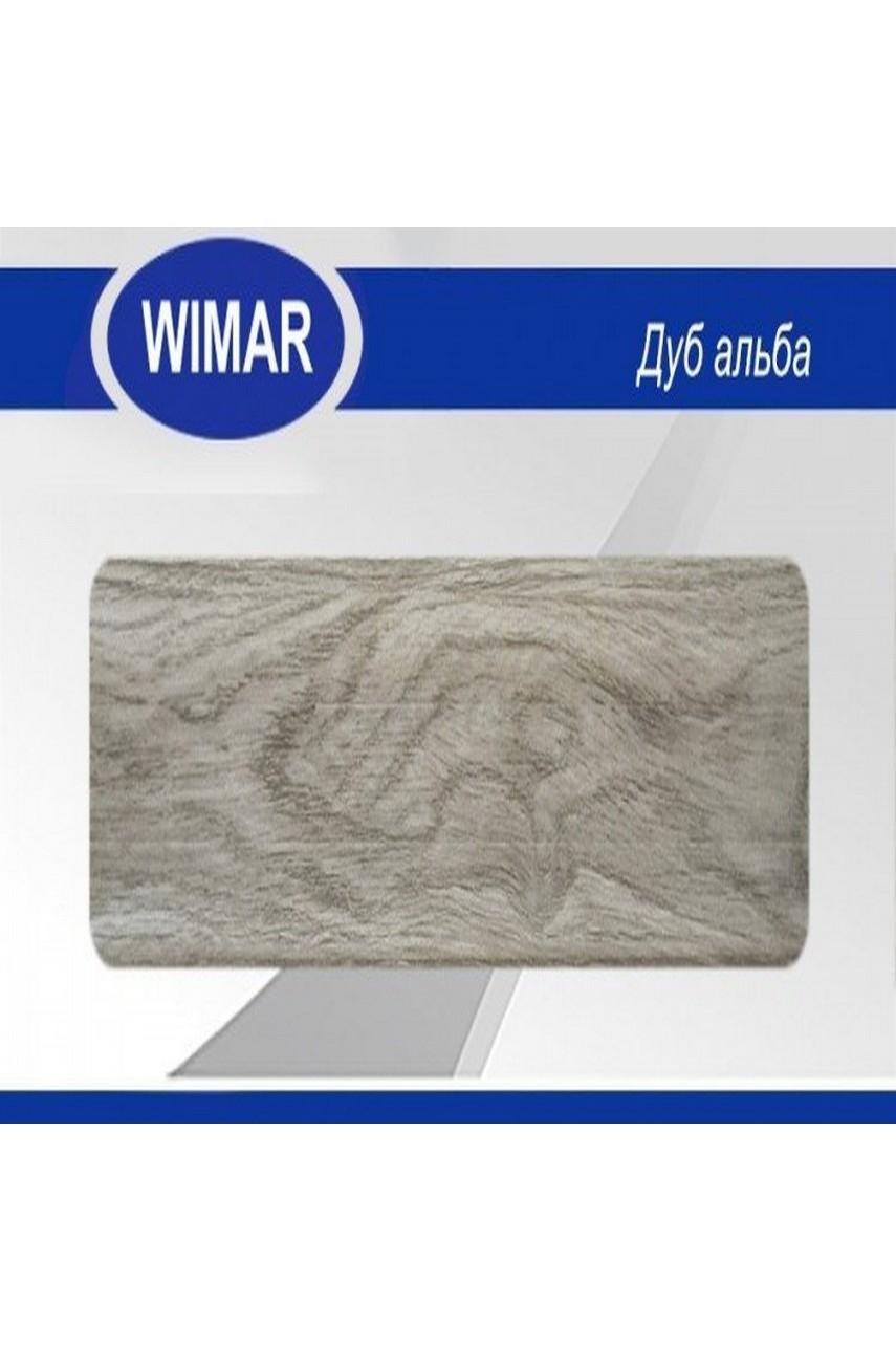 Плинтус пластиковый напольный WIMAR ПВХ 68мм Дуб альба