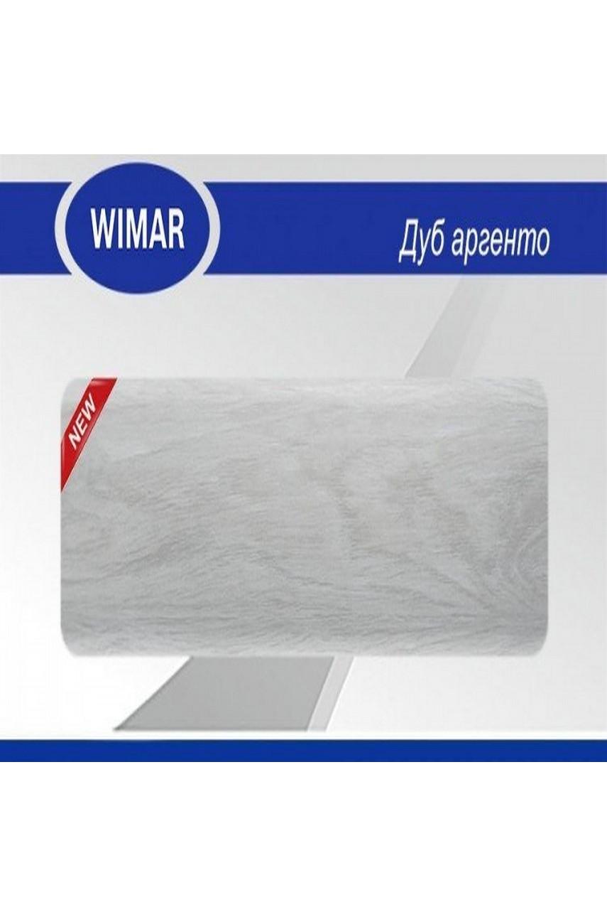 Плинтус пластиковый напольный WIMAR ПВХ 68мм Дуб аргенто