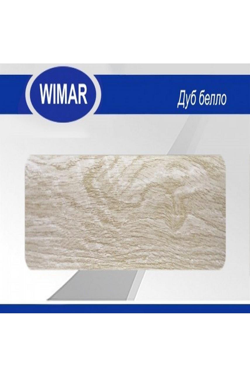 Плинтус пластиковый напольный WIMAR ПВХ 86мм Дуб белло