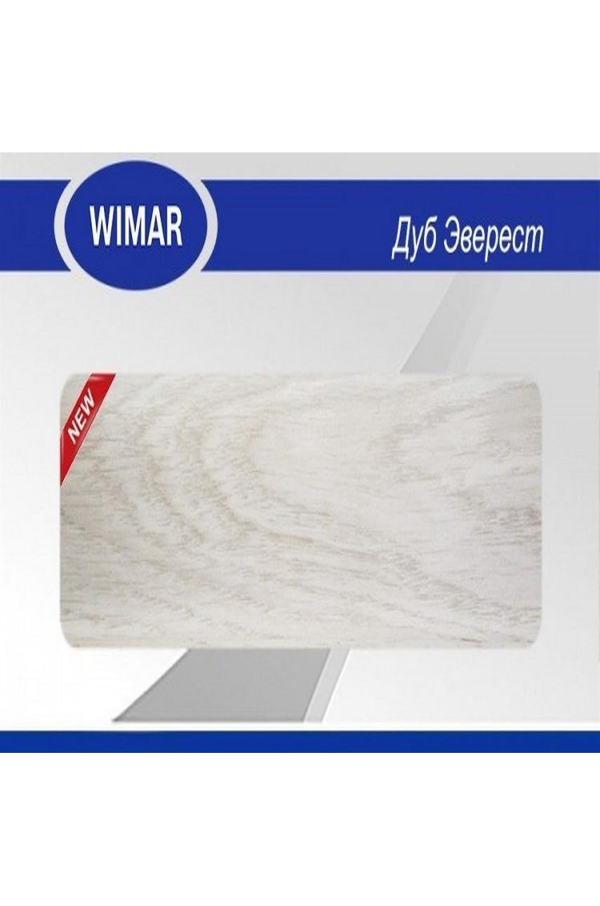 Плинтус пластиковый напольный WIMAR ПВХ 86мм Дуб эверест