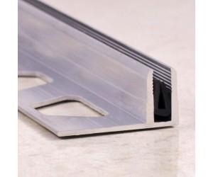Алюминиевая вставка(база) для Т-образного профиля с резиновой вставкой