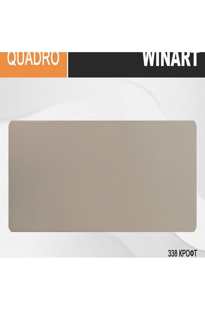 Плинтус напольный пластиковый WINART Quadro 80 мм Крофт 338