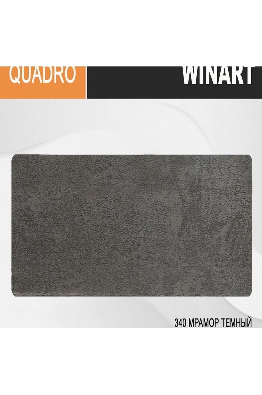 Плинтус напольный пластиковый WINART Quadro 80 мм Мрамор темный 340