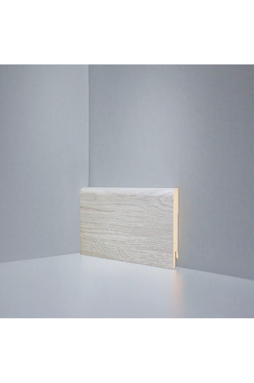 B202-05 дуб янтарный светло-серый плинтус напольный Deartio