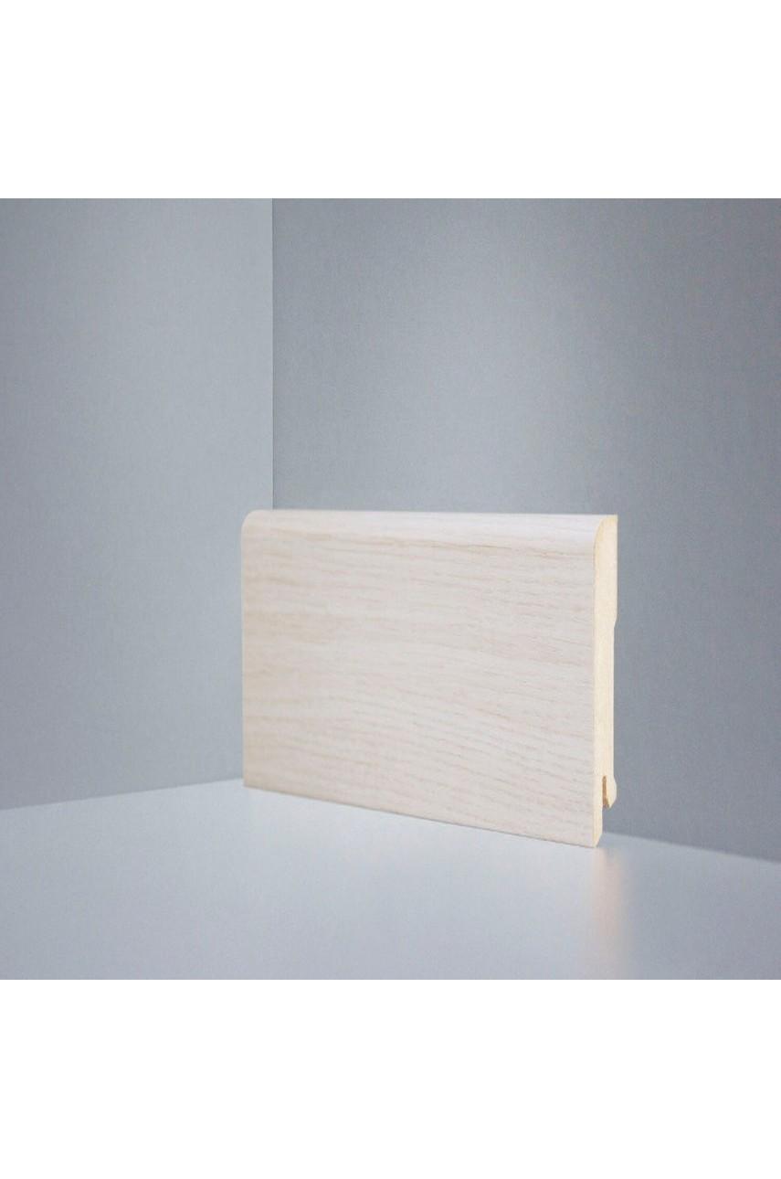 B202-12 дуб осветленный плинтус напольный Deartio