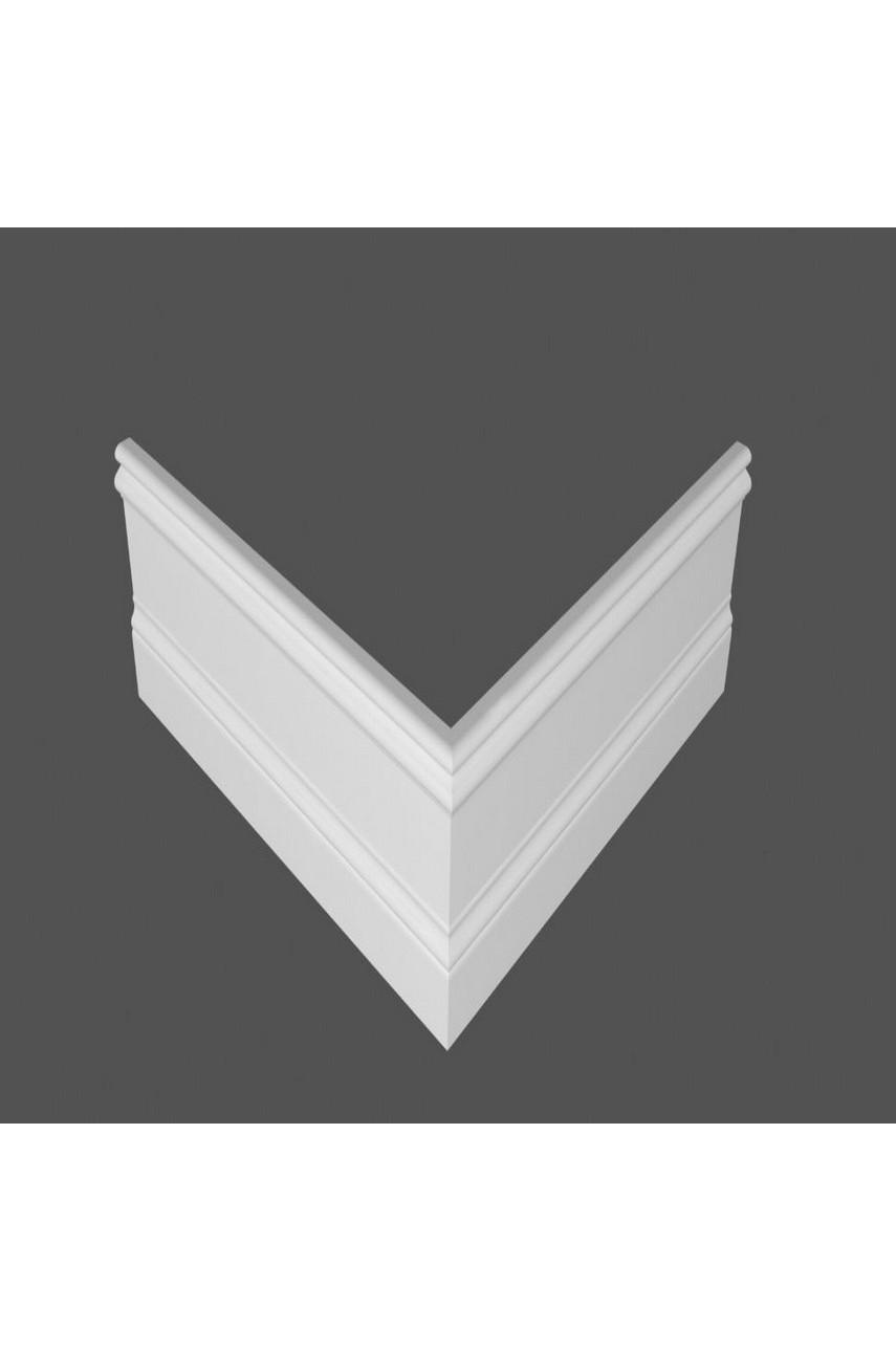 Плинтус напольный МДФ DeArtio под покраску P15.134.16