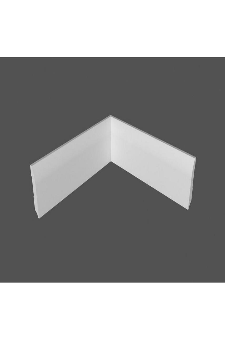 Плинтус напольный МДФ DeArtio под покраску P20.100.16