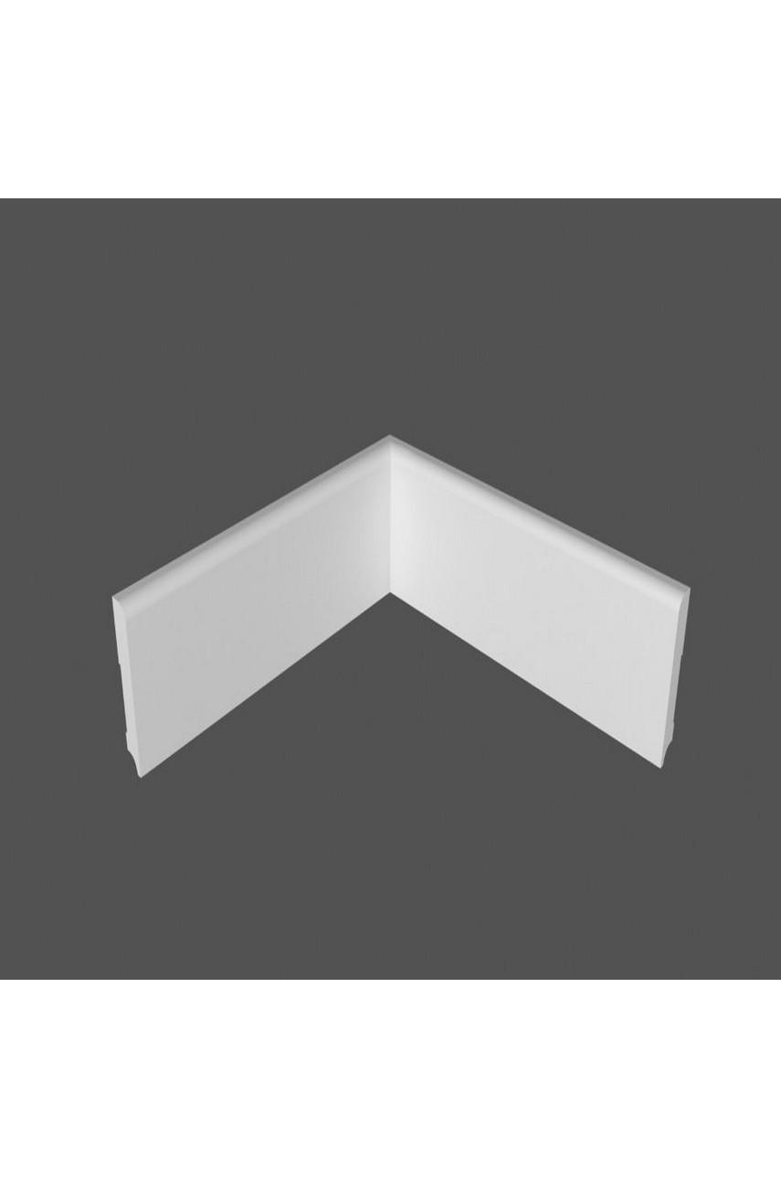 Плинтус напольный МДФ DeArtio под покраску P2.100.16
