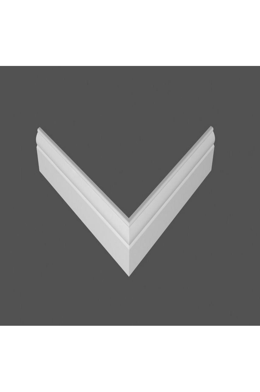 Плинтус напольный МДФ DeArtio под покраску P4.80.16