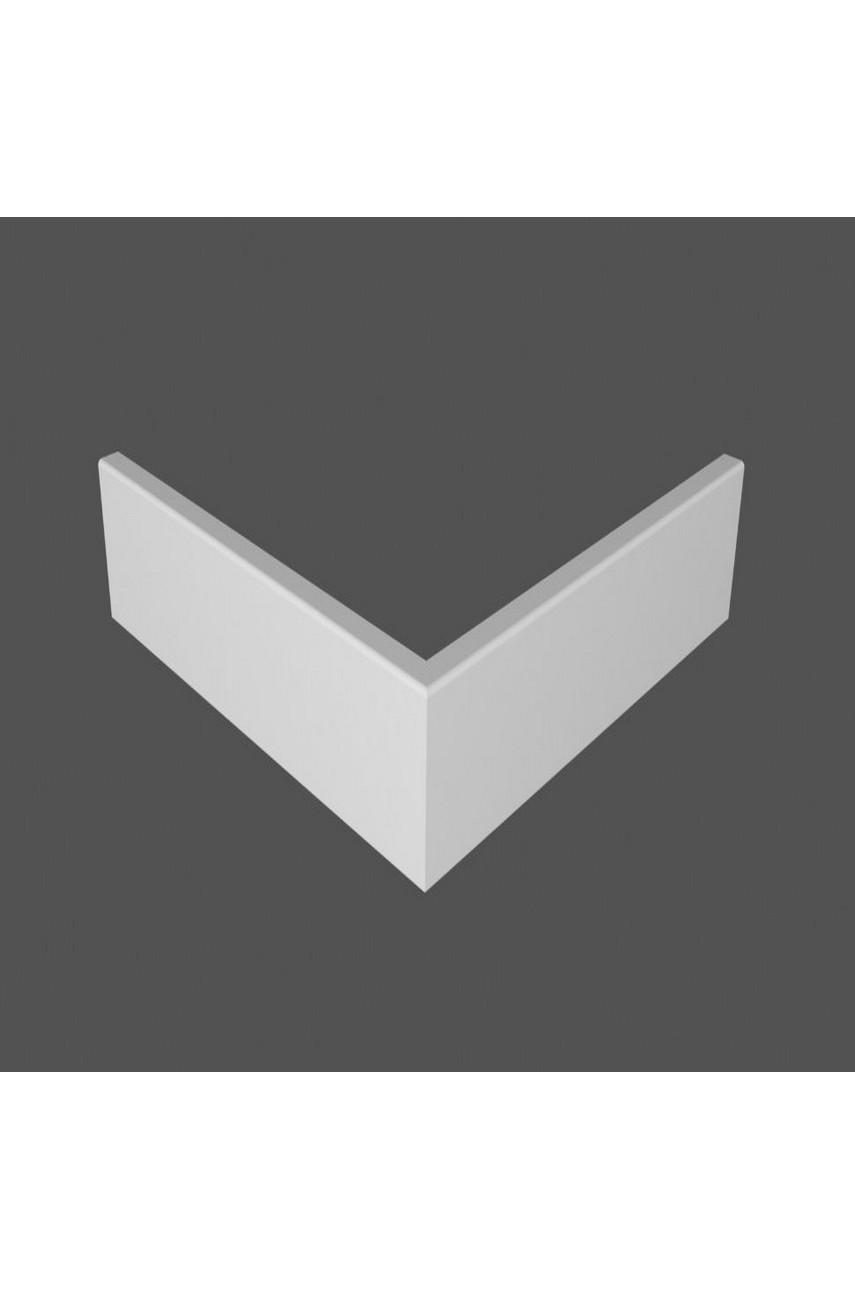 Плинтус напольный МДФ DeArtio под покраску P6.100.16