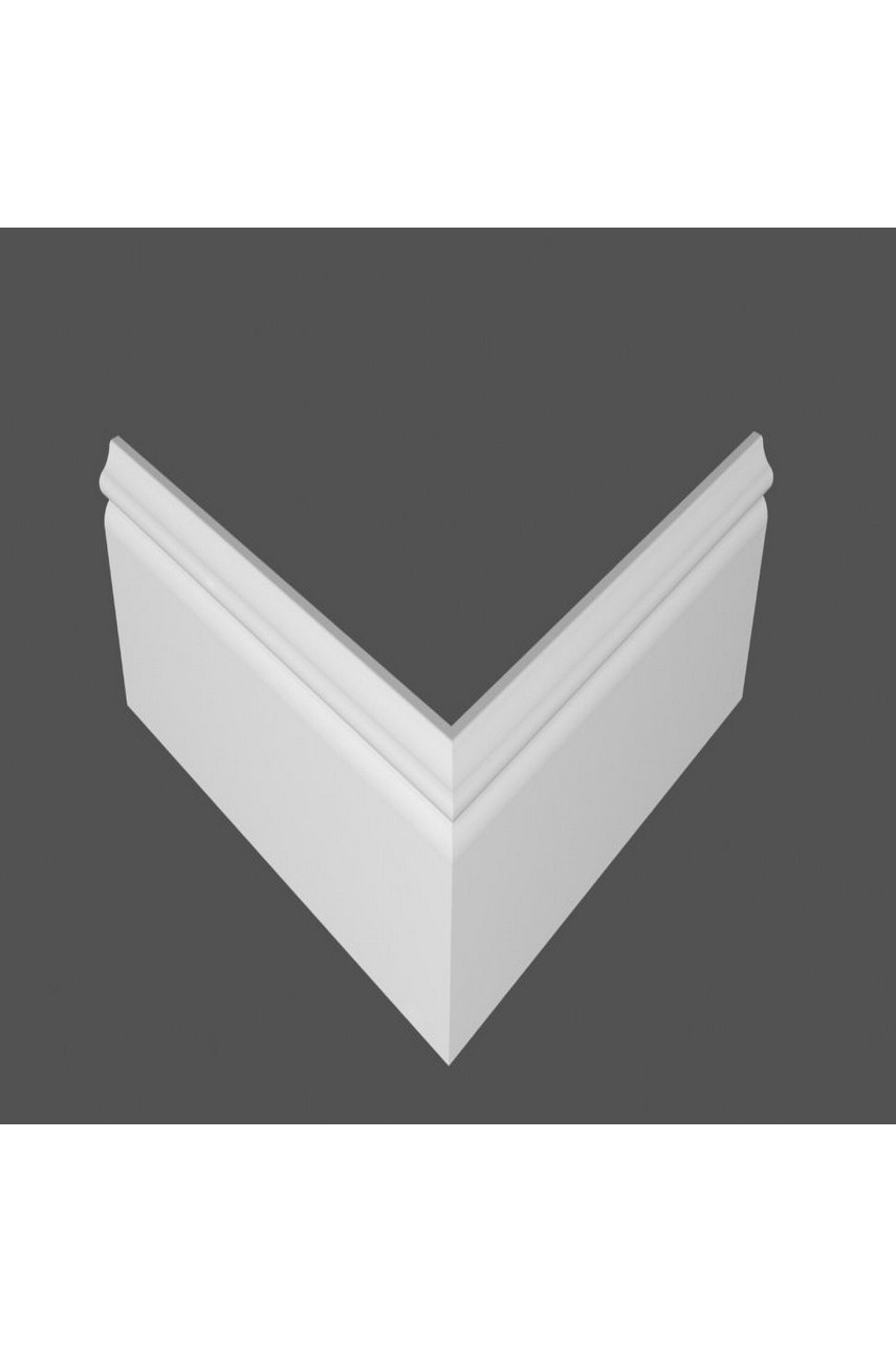 Плинтус напольный МДФ DeArtio под покраску P8.137.18