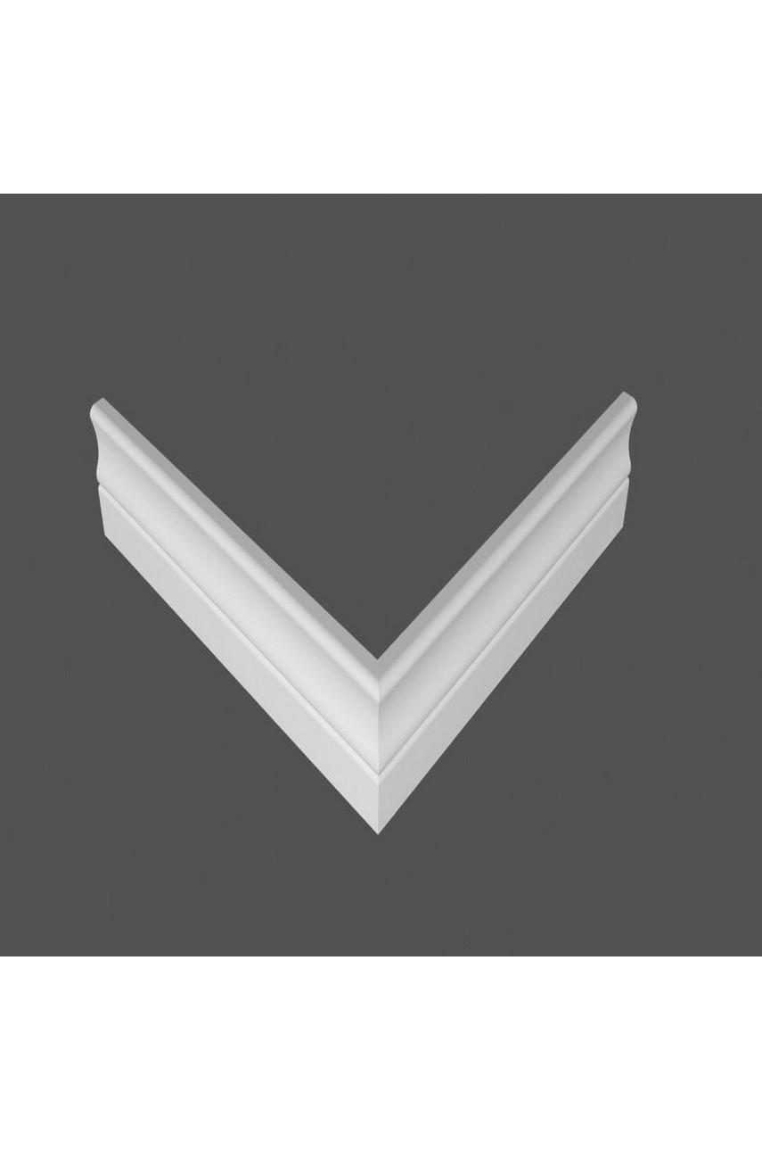 Плинтус напольный МДФ DeArtio под покраску Р14.82.16