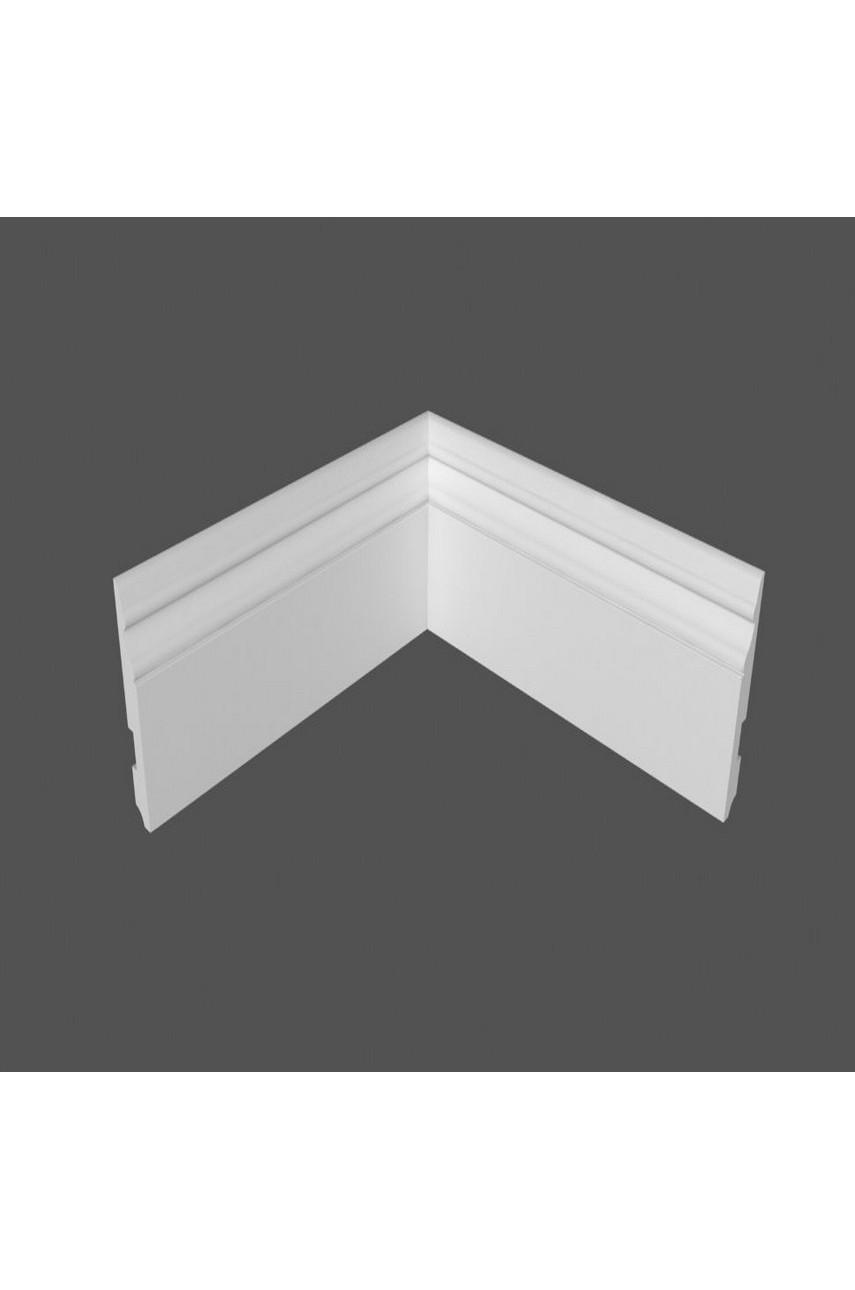 Плинтус напольный МДФ DeArtio под покраску Р24.127.16