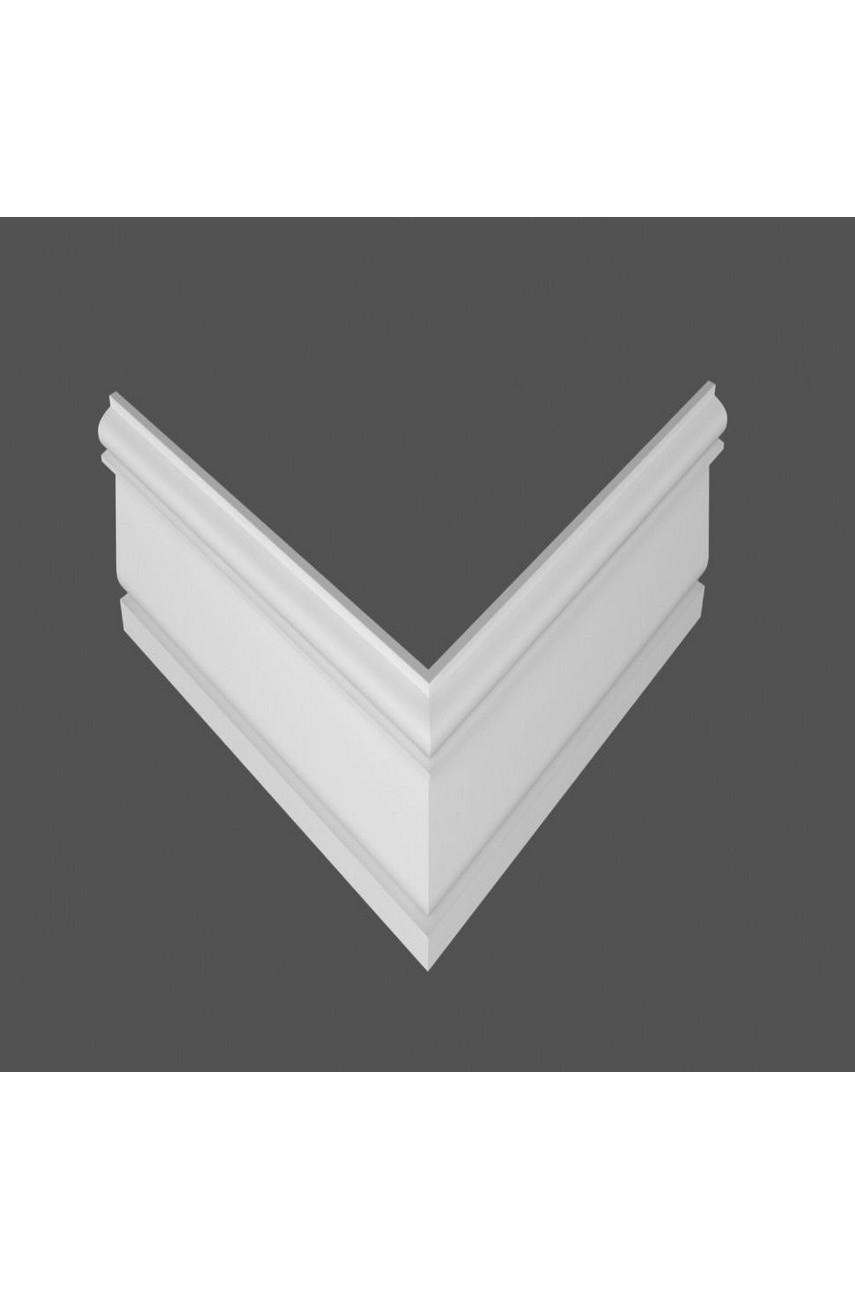 Плинтус напольный МДФ DeArtio под покраску Р25.127.18