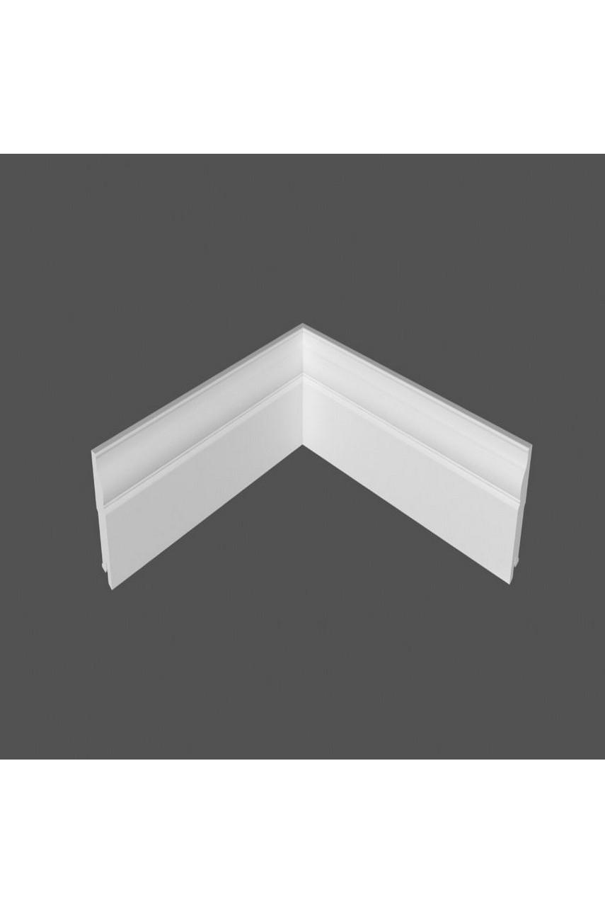 Плинтус напольный МДФ DeArtio под покраску Р3.100.16