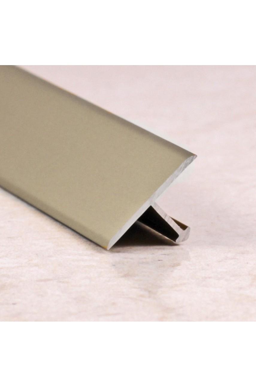 Алюминиевый Т-образный Профиль Бронза Матовый 18мм ПТ 18