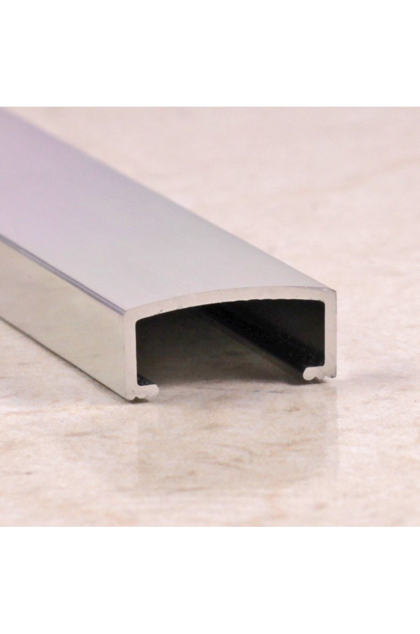 Алюминиевый декоративный бордюр 20мм