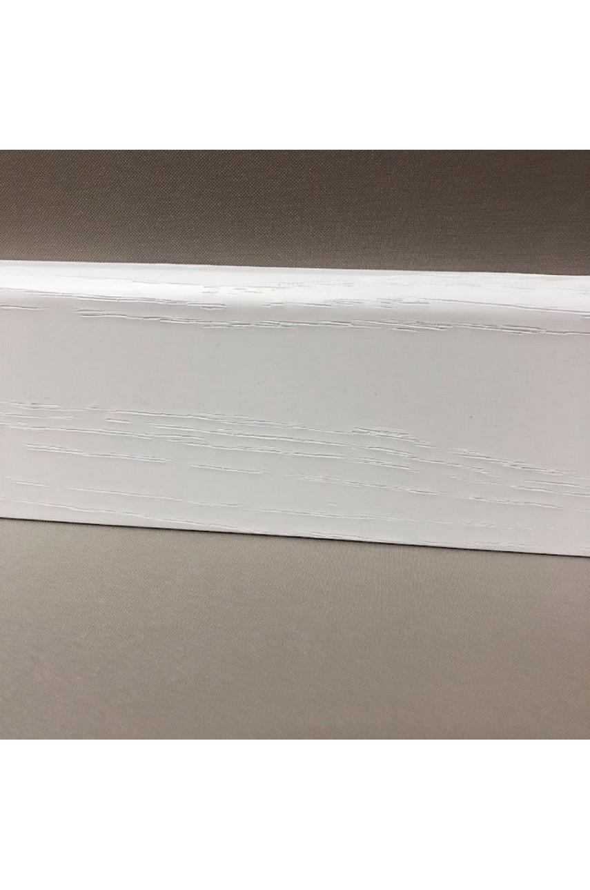 Плинтус для пола МДФ SM Classic® SM 02-80 Айвори белый