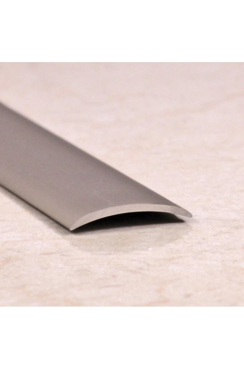 Алюминиевый порог гладкий с отверстиями ПО 20