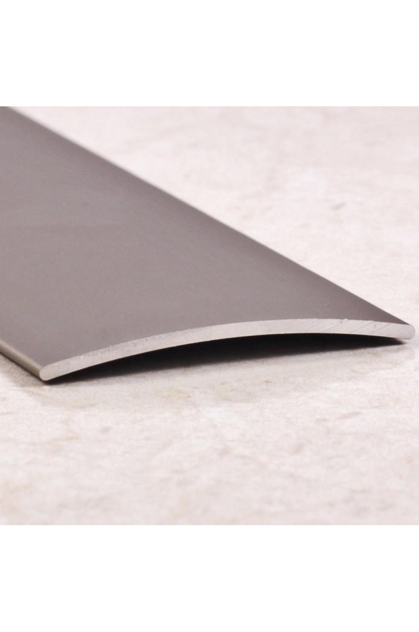 Алюминиевый порог гладкий с отверстиями ПО 45