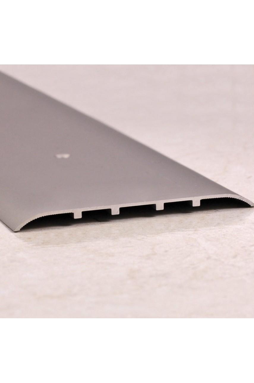 Алюминиевый порог гладкий с отверстиями ПО 80