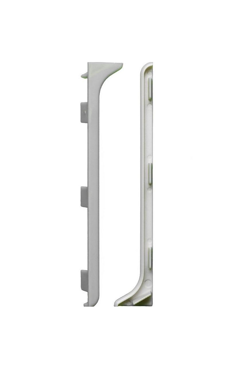 Заглушки для Плинтуса(пара) алюминиевый 100мм ПЛ